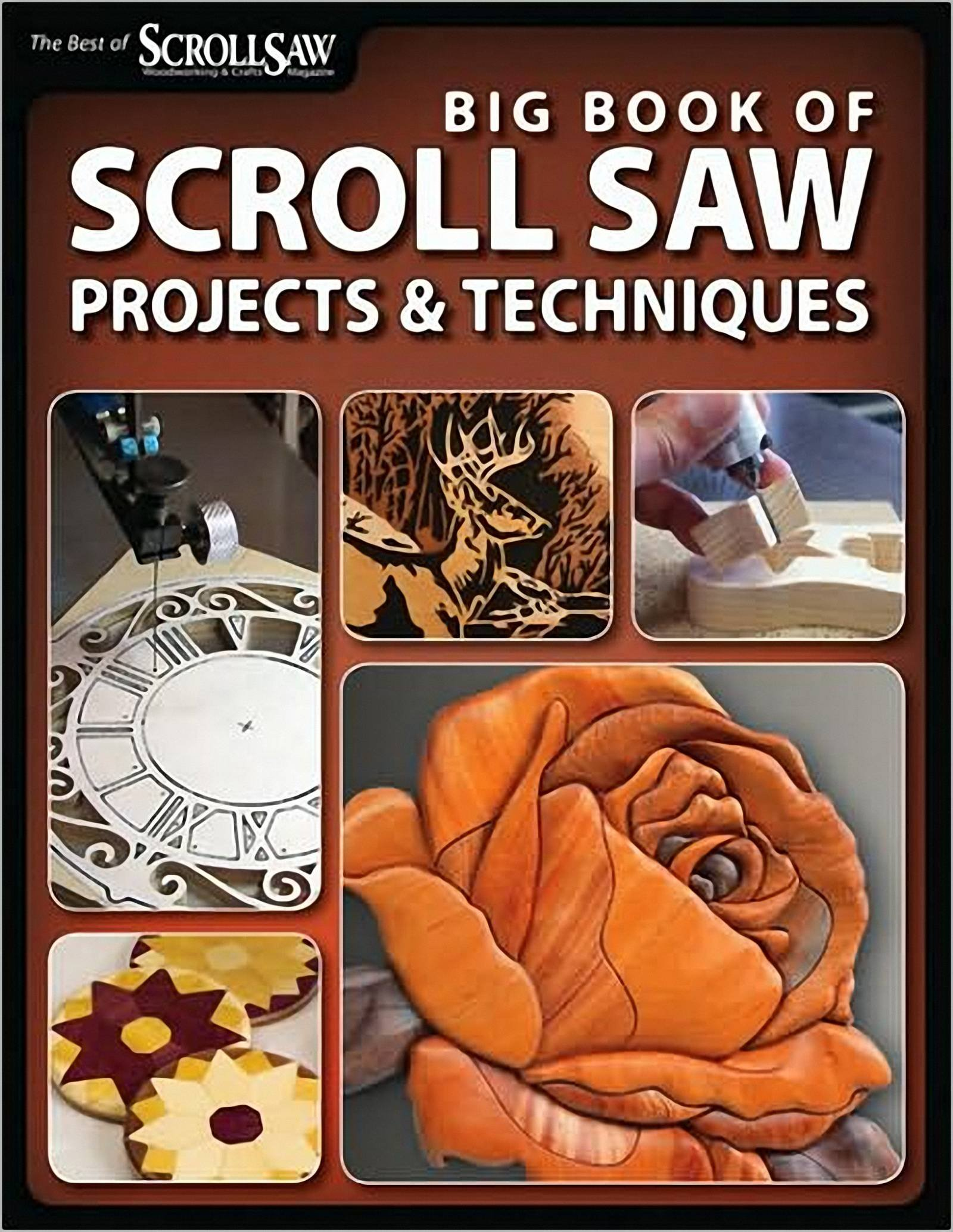 Big Book Of Scroll Saw Projects & Techniques -2009- PDF | Carpintería Digital
