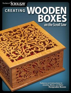 Creating Wooden Boxes on the Scroll Saw -2009- PDF | Carpintería Digital