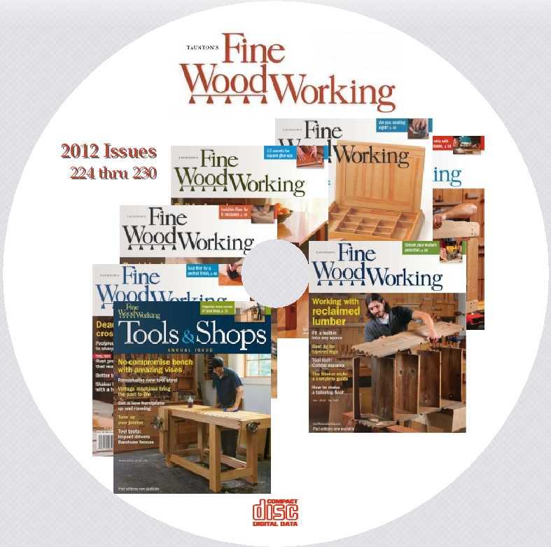 Revista Fine Woodworking Todos Los Números De 2012 (224-230) PDF ...