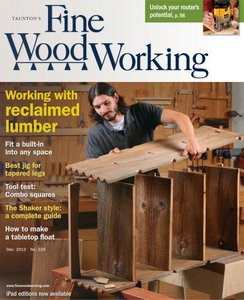 Fine Woodworking #229 Working With Reclaimed Lumber