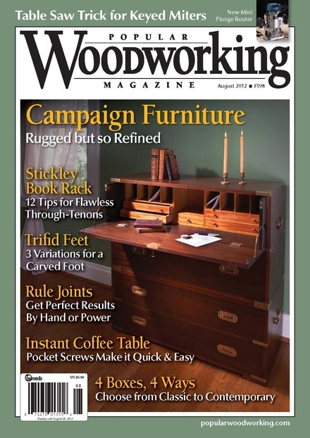 Project Working: Popular woodworking 203 pdf