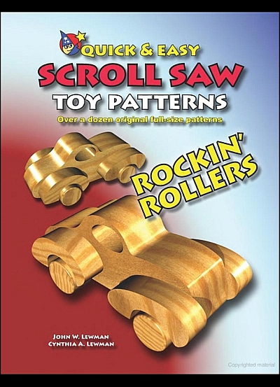 Quick  Easy Scroll Saw Toy Patterns Rockin' Rollers