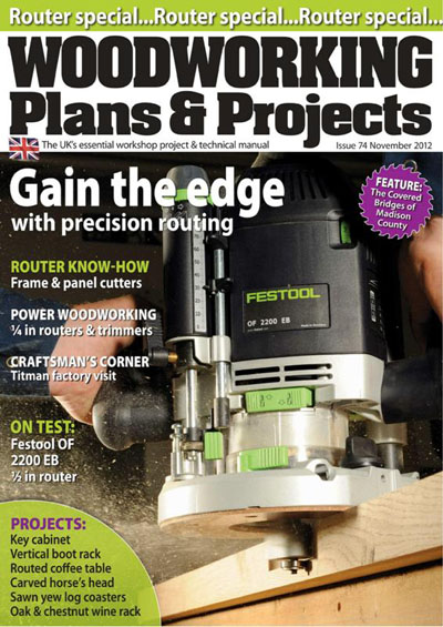 Woodworking Plans & Projects #074 (November 2012)