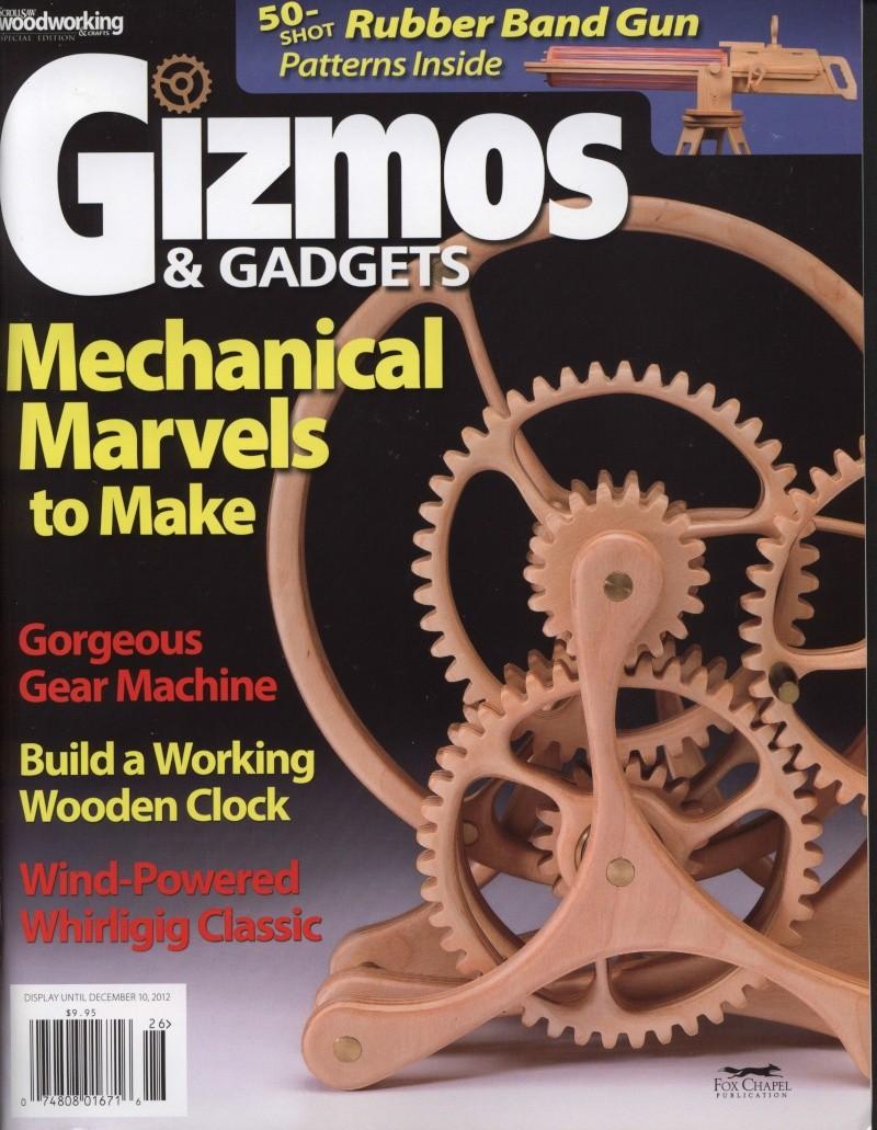 Gizmos & Gadgets Maravillas Mecánicas Para Hacer Especial De La Revista Scrollsaw Woodworing ...