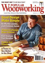 Popular Woodworking #181