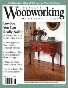 Popular Woodworking #183