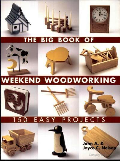 El gran libro de carpinter a de fin de semana 150 for Proyectos de carpinteria pdf