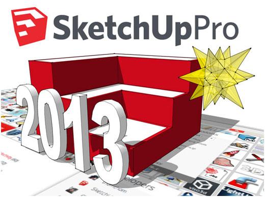 Sketchup pro 2013 carpinter a digital for Sketchup 2013