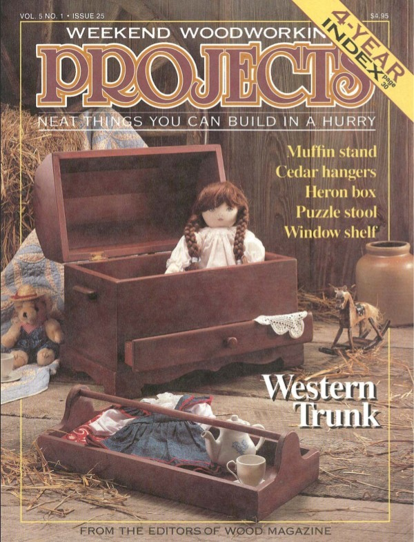 Revista Woodworking Projects #25 -1992- PDF