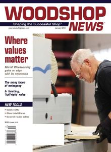 Woodshop News 01-2013