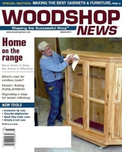 Woodshop News 03-2013