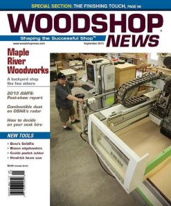 Woodshop News 09-2013